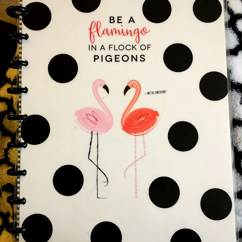 flamingo journal cover